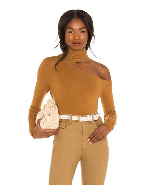 L'AGENCE nicky cut out turtleneck sweater