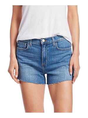 L'AGENCE Ryland High Rise Side Zip Shorts