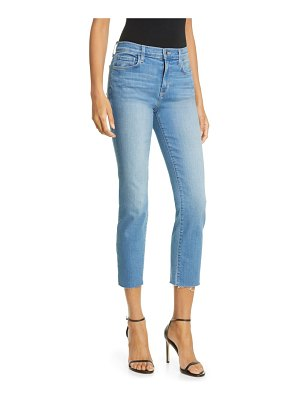L'AGENCE sada high waist crop slim jeans