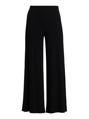 L'AGENCE the crawford ribbed wide-leg pants
