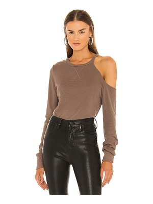 LAmade iconic cold shoulder top