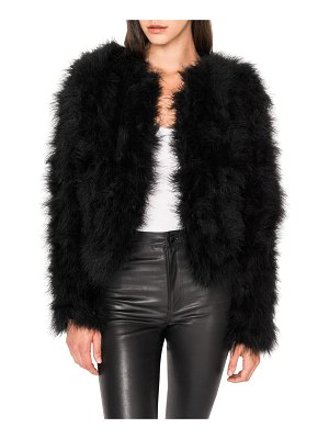 LAMARQUE Deora Feather Topper Jacket