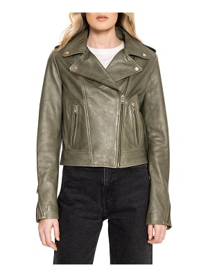 LAMARQUE Donna Leather Biker Jacket