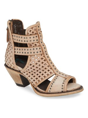 LANE BOOTS artesia perforated bootie