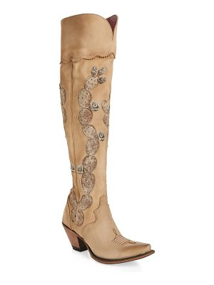 LANE BOOTS lane hard to handle over the knee western boot