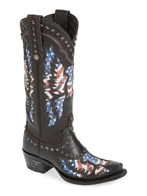 LANE BOOTS old glory studded western boot