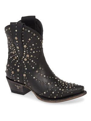 LANE BOOTS sparks fly studded short western boot