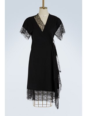 Lanvin Lace and wool dress