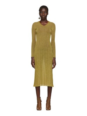 Lanvin lurex knitted dress