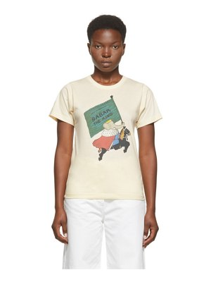 Lanvin off-white babar edition king t-shirt