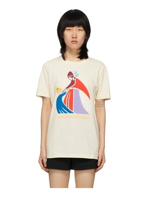 Lanvin off-white mother and child t-shirt
