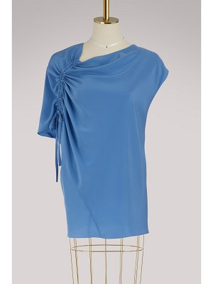 Lanvin Silk asymmetrical top