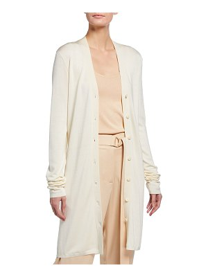 LAPOINTE Long Fitted Cardigan