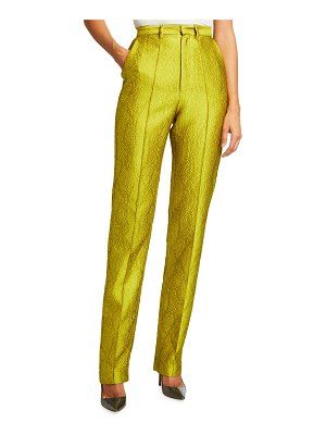 LAPOINTE Snake Jacquard Tailored Trousers