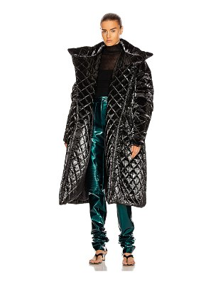 LAQUAN SMITH quilted puffer coat
