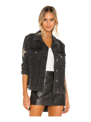 Lauren Moshi spencer denim boyfriend jacket. - size l (also