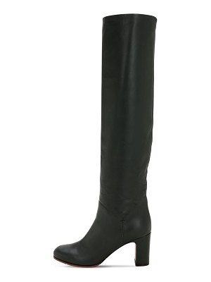 L'AUTRE CHOSE 80mm tall leather boots