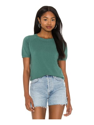 LBLC The Label alex short sleeve sweater top