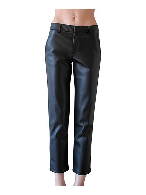LBLC The Label Franny Vegan Leather Trousers