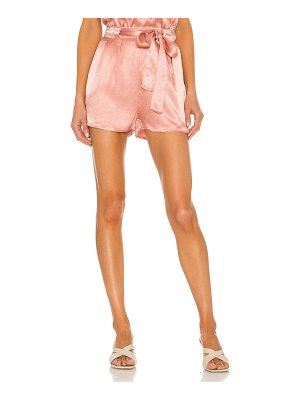LBLC The Label gabby belted short