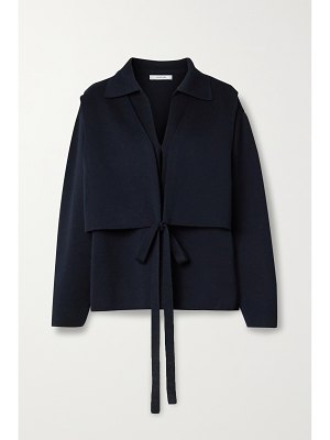 LE 17 SEPTEMBRE convertible layered knitted jacket