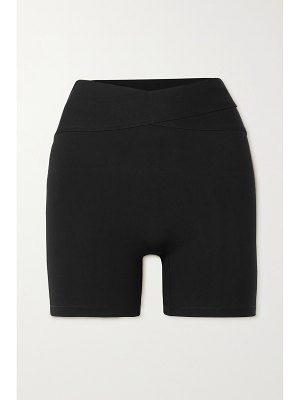 Le Ore corso cutout recycled stretch shorts