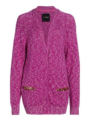 Le Superbe all the time silk & cashmere-blend cardigan