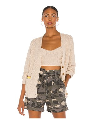 Le Superbe beach to bar cropped cardigan