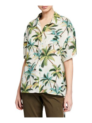 Le Superbe Club Tropicana Printed Button-Front Shirt