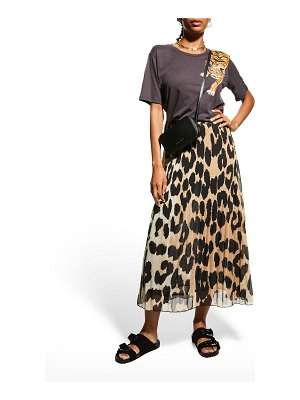 Le Superbe Scratching Tiger Graphic Tee