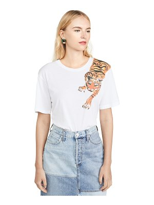 Le Superbe scratching tiger tee