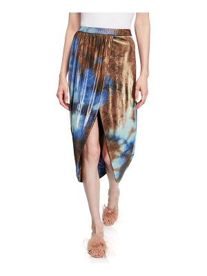 Le Superbe Take It Easy Tie-Dye Tulip Skirt