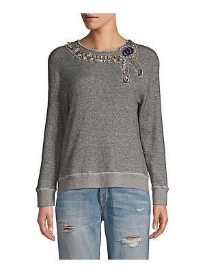 Le Superbe the eye embellished sweater
