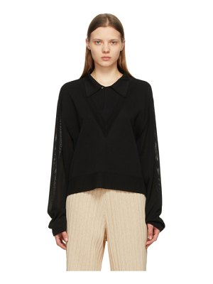 LE17SEPTEMBRE layered v-neck sweater