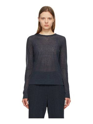 LE17SEPTEMBRE sheer pullover sweater