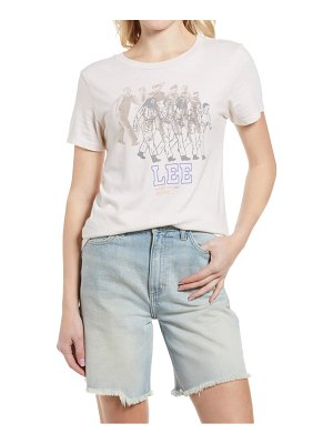 Lee marching women graphic tee