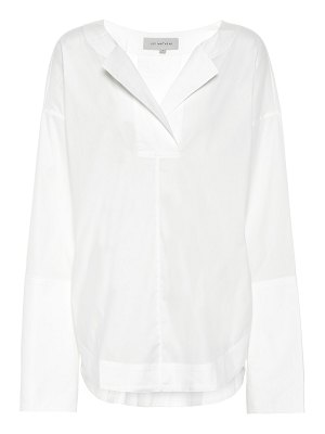 LEE MATHEWS elsie cotton-blend blouse