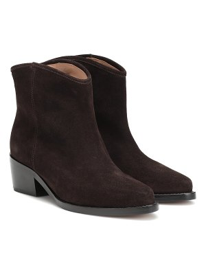 Legres western low suede ankle boots