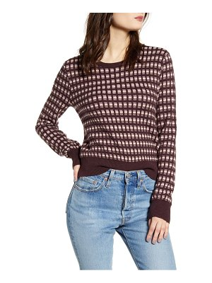 Leith chunky knit crop sweater