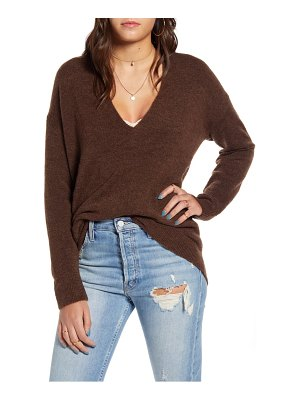 Leith cozy v-neck sweater