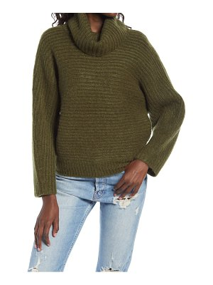 Leith dolman turtleneck sweater