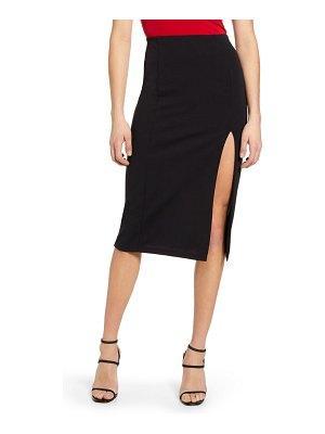 Leith high slit pencil skirt