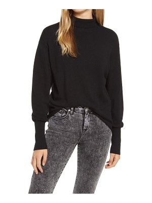 Leith mock neck sweater
