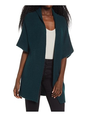 Leith open front dolman sleeve cardigan