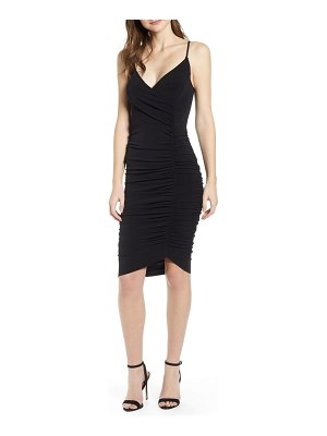 Leith ruched bodycon dress