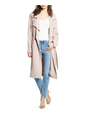 Leith soft trench coat
