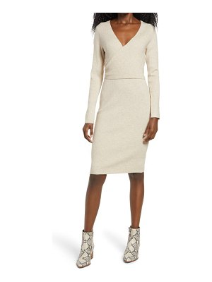 Leith wrap it up sweater dress