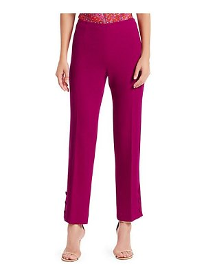 Lela Rose button cuff pants