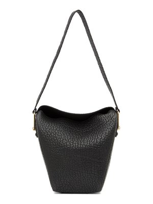 LEMAIRE black small folded bag