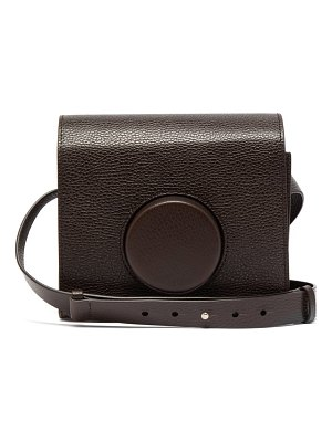 LEMAIRE camera cross body leather bag